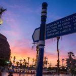 Cartel Bienvenidos Arica